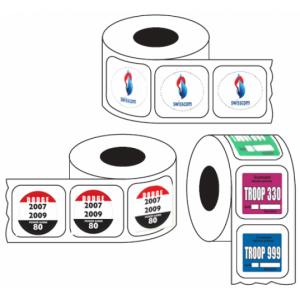 Auto Roll Stickers