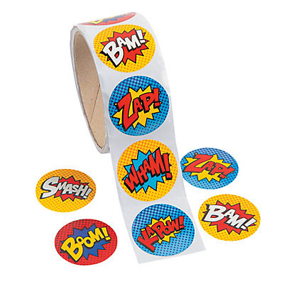 Bumper Roll Stickers