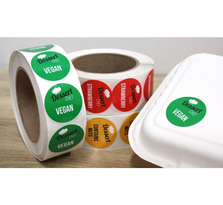 Custom Labels Roll Stickers