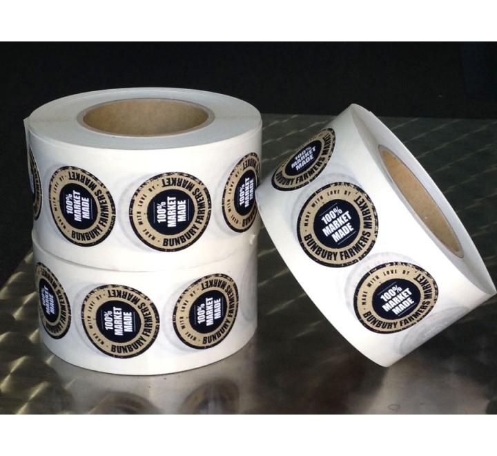 Custom Roll Stickers