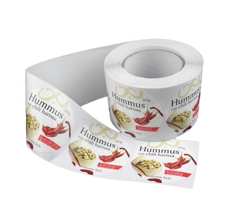 Custom Sticker Paper Roll