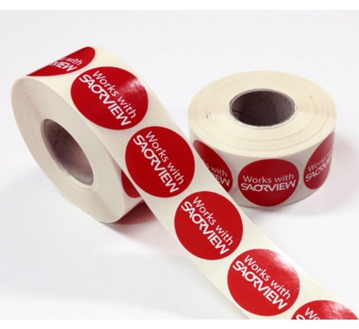 Die Cut Auto Roll Stickers