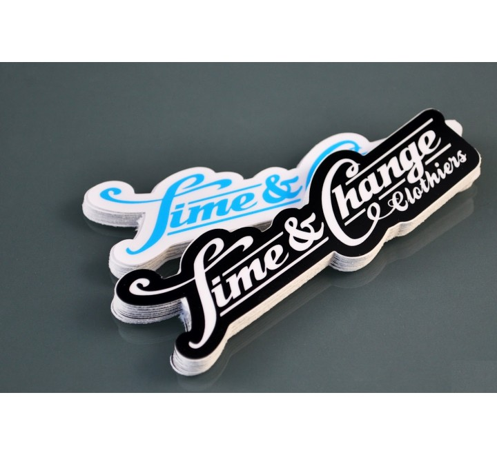Die Cut Truck Roll Stickers