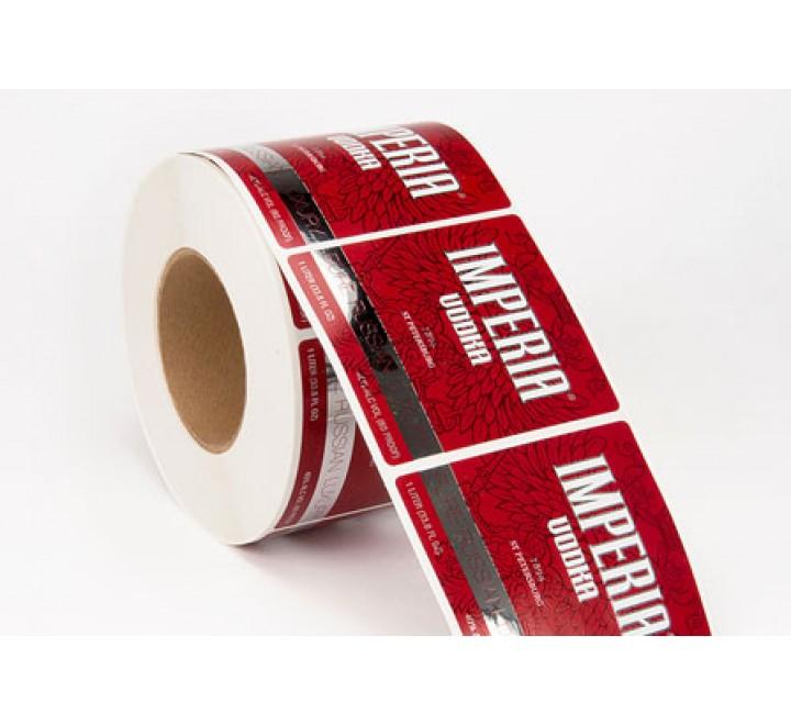 Rectangular Wedding Roll Stickers