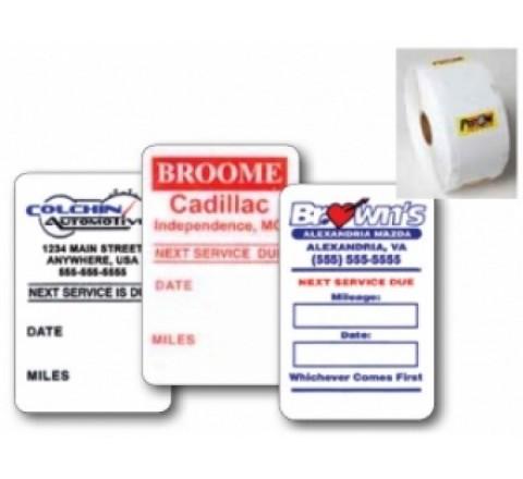 Custom Static Cling Roll Stickers