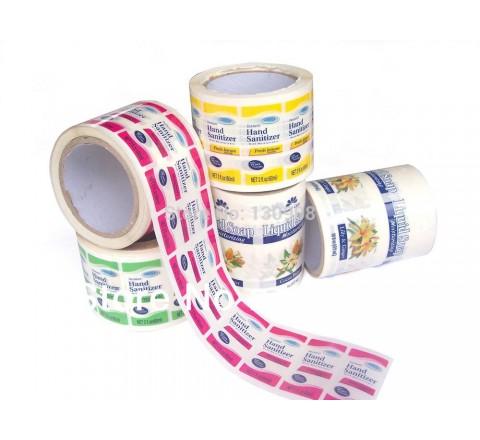 Custom Wholesale Roll Stickers