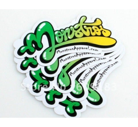 Die Cut custom stickers