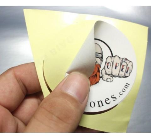 Die Cut Wholesale Roll Stickers