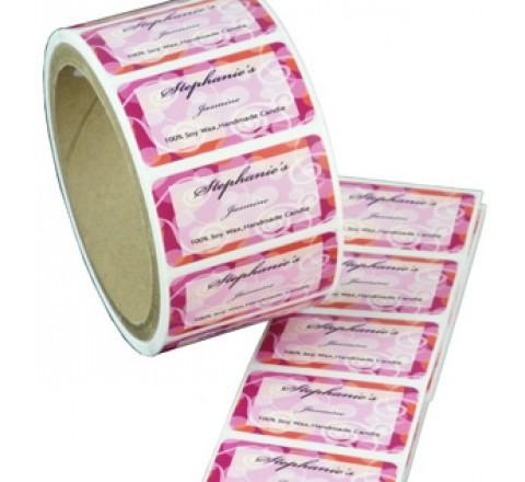 Rectangular Roll Labels