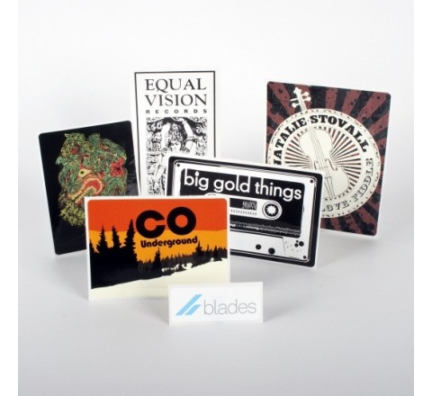 Rectangular Decals Roll Stickers