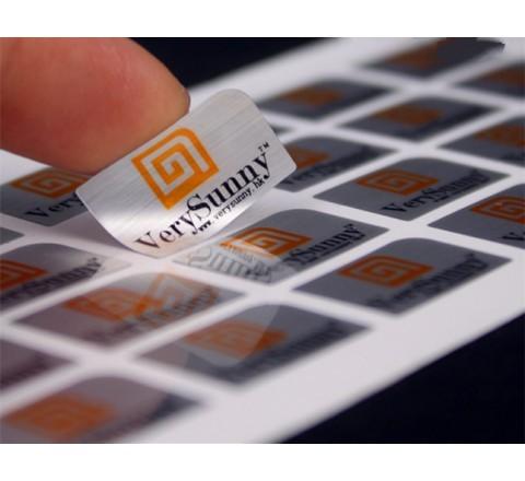 Rectangular Foiled Labels