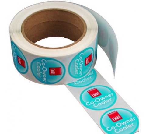 Round Business Roll Stickers