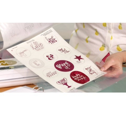 Round Foiled Labels
