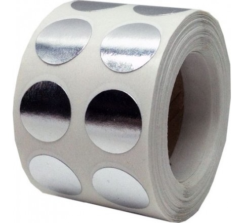 Round Reflective Roll Stickers
