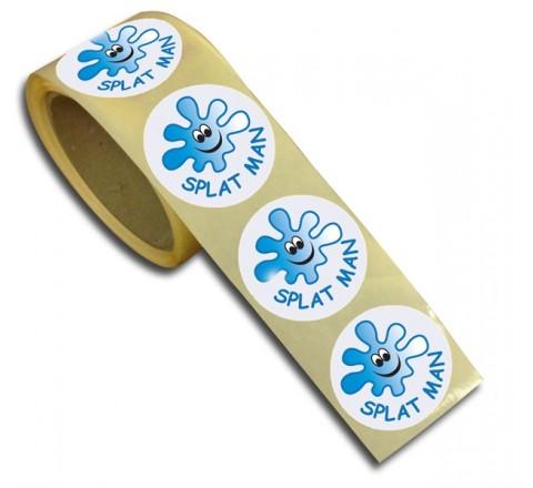 Round Window Roll Stickers