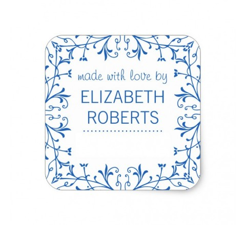 Square Canning Labels