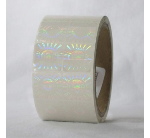 Square Decals Roll Stickers